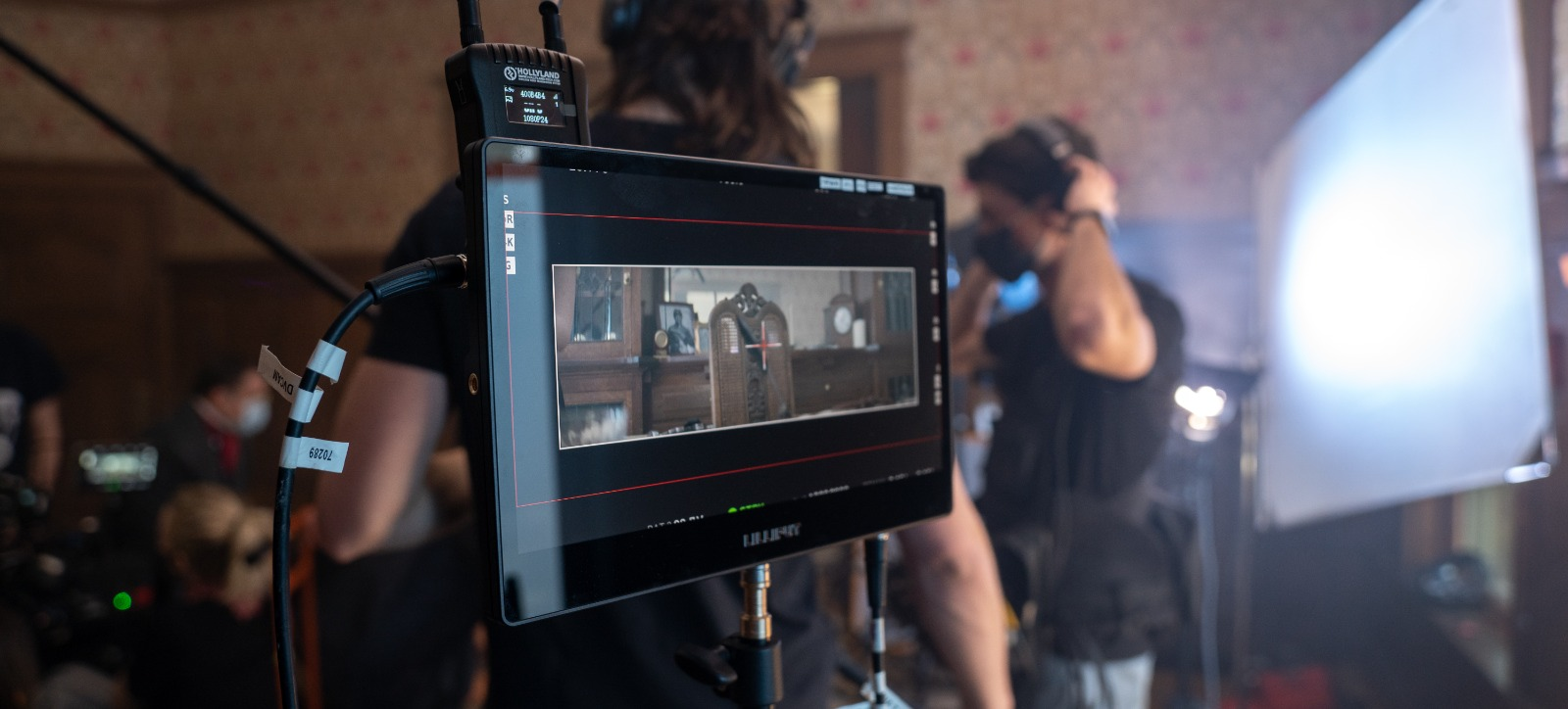 Shooting with the Alexa on the set of Wildcat.